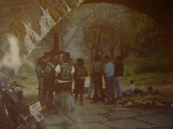 Party in den frühen 80zigern