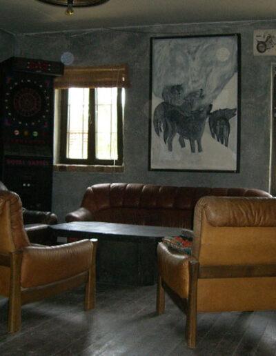 Hauptraum Sitzecke