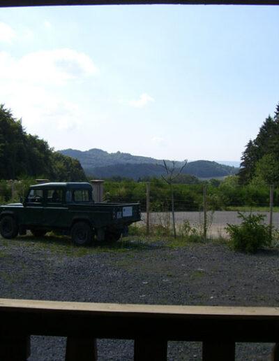 Blick von der Veranda